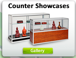 Counter Showcases